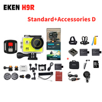 New Come EKEN Action Sport Camera 4K Ultra HD H9 H9R 2 4G Remote Controller 2
