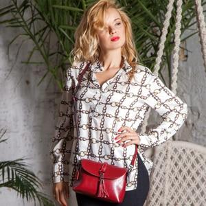 Image 3 - הגעה חדשה אמיתי עור נשי כתף תיק ציצית נשים Crossbody תיק 2020 אופנה שליח תיק קטן דש לליידי