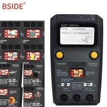 BSIDE ESR02 pro Multi-purpose Transistor Tester Diode Triode Capacitance Resistor Meter MOS/PNP/NPN SMD Tester