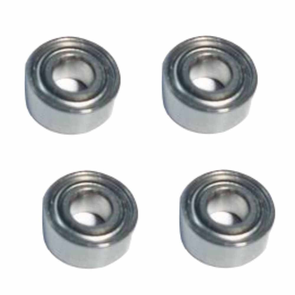 цены  450 Rc Helicopter Bearing 3*8*4 MM MR693ZZ for Align Trex Helicopters 4 pcs High Quality