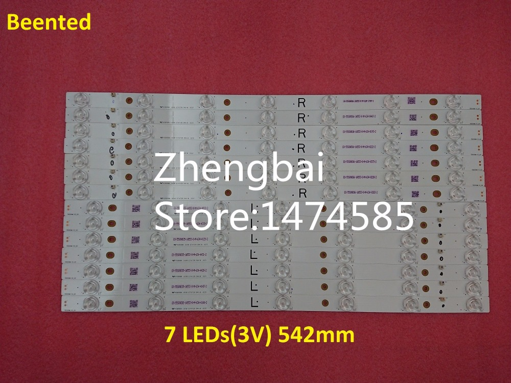 100 New 16pcs set LED backlight strip Array for tx 55dx600e TB5509M M30900 16V0 E74739 EX