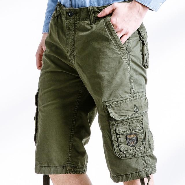 Aliexpress.com : Buy 2017 Men Shorts Masculino Men Military Cargo ...