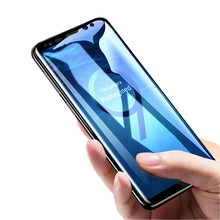 CYTLTB For Samsung S9 S9 Plus S8 S8 Plus Glass 3D Hot Bending Four Side Glue Tempered Glass Screen Protector