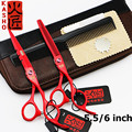 Japan Professional Hairdressing Scissors Hair Cutting Scissors Set Barber Shears Tijeras Pelo High Quality Salon5.5/ 6inch VH045