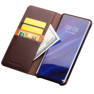 Image 5 - اليدوية جلد طبيعي حافظة لهاتف Huawei P30 برو VOG L09 VOG L29 حالة محفظة حقيبة بفتحة لإخراج البطاقة فليب غطاء لهواوي P30Pro غطاء