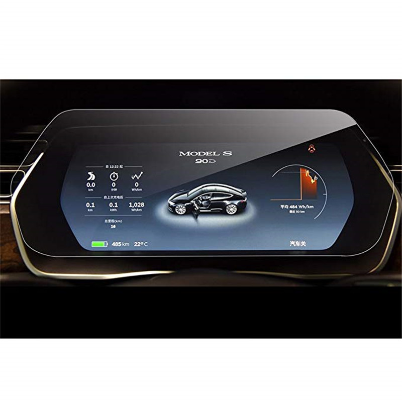 2019 Novo 12.3 Polegada Instrumento Painel de Vidro Temperado Protetor de Tela para Tesla Model S Modelo X