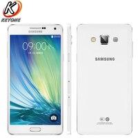 Новый оригинальный Samsung Galaxy A7 A7100 LTE мобильный телефон 5,5 3 ГБ Оперативная память 16 ГБ Встроенная память Snapdragon 615 Octa Core Android 13MP 3300 мАч телефон