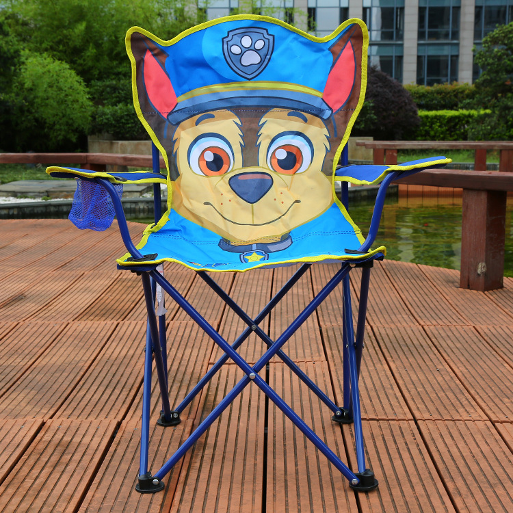 Miraculous Us 40 77 32 Off Comfortable Folding Moon Chair Kids Stable Cartoon Folding Steel Chair With Cup Holder Armrest And High Back In Beach Chairs From Theyellowbook Wood Chair Design Ideas Theyellowbookinfo