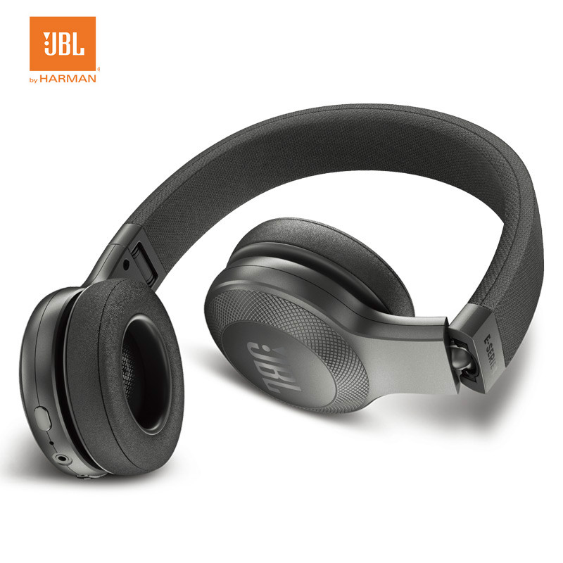 JBL E45BT  Bluetooth Headphone Wireless Headset Wired Earphone portable Music HIFI Subwoofer гарнитура jbl e55bt белый jble55btwht