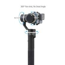feiyu G5 360 Degree Coverage Splashproof 3-axis handhel Gimbal DSLR camera Stabilizer For GoPro HERO5 4 3 3+/for smartphone