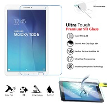 Tempered Glass For Samsung Galaxy Tab S3 Tab E 8.0 9.6 inch Tab A 10.1 T560 T561 T377 T375 T113 HD Tablet Screen Protector Flim все цены