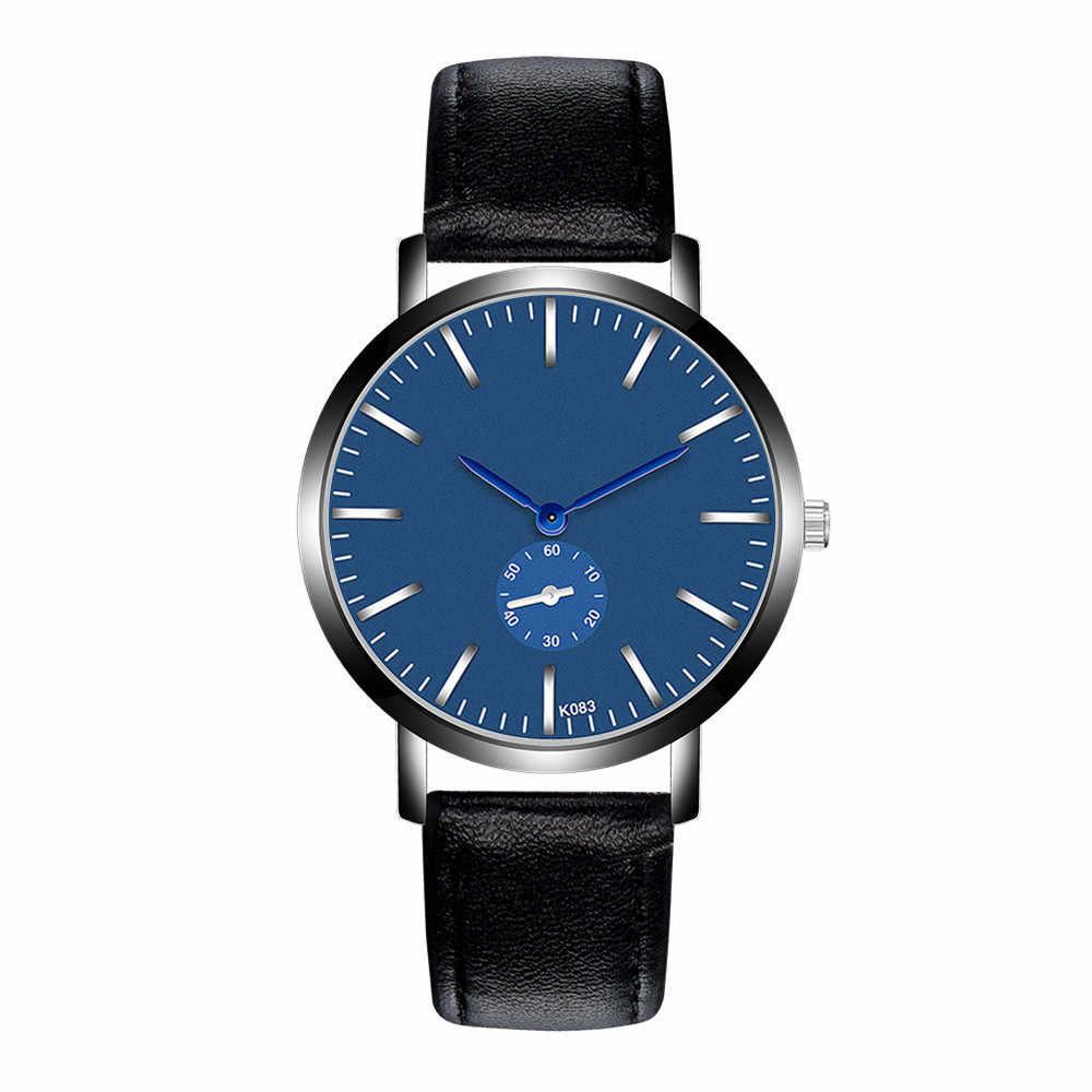 2019 Horloge Mannen Nieuwe Mode Top Merk Datum Luxe Retro Design Business Hoge Kwaliteit Lederen Relogio Masculino Reloj Hombre