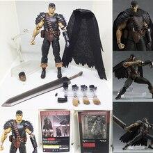 Berserk Figma 359 Black Swordman Action Figures Toys
