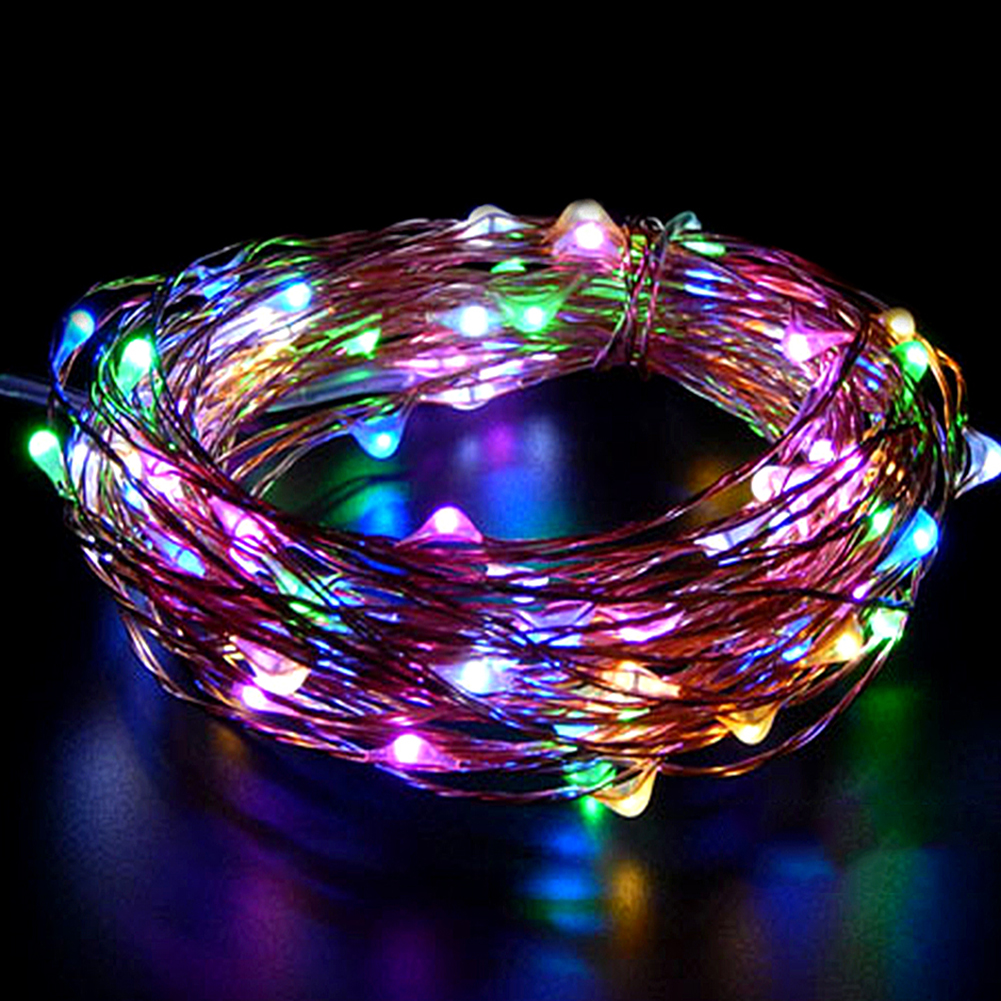 Solar Power LED String Lights Fairy Lights For Glass Craft Bottle Party Wedding Decoration Christmas Flasher Fairy Lights