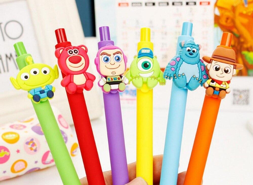 korea lovely rare animal gel pen cartoon stationery prize kids promotion gift cute office writing pen