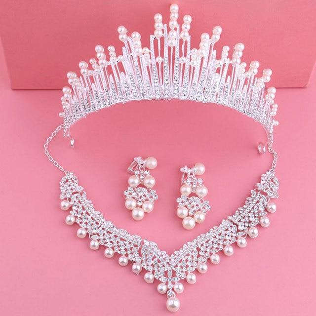 Bride Crystal Pearl Costume...
