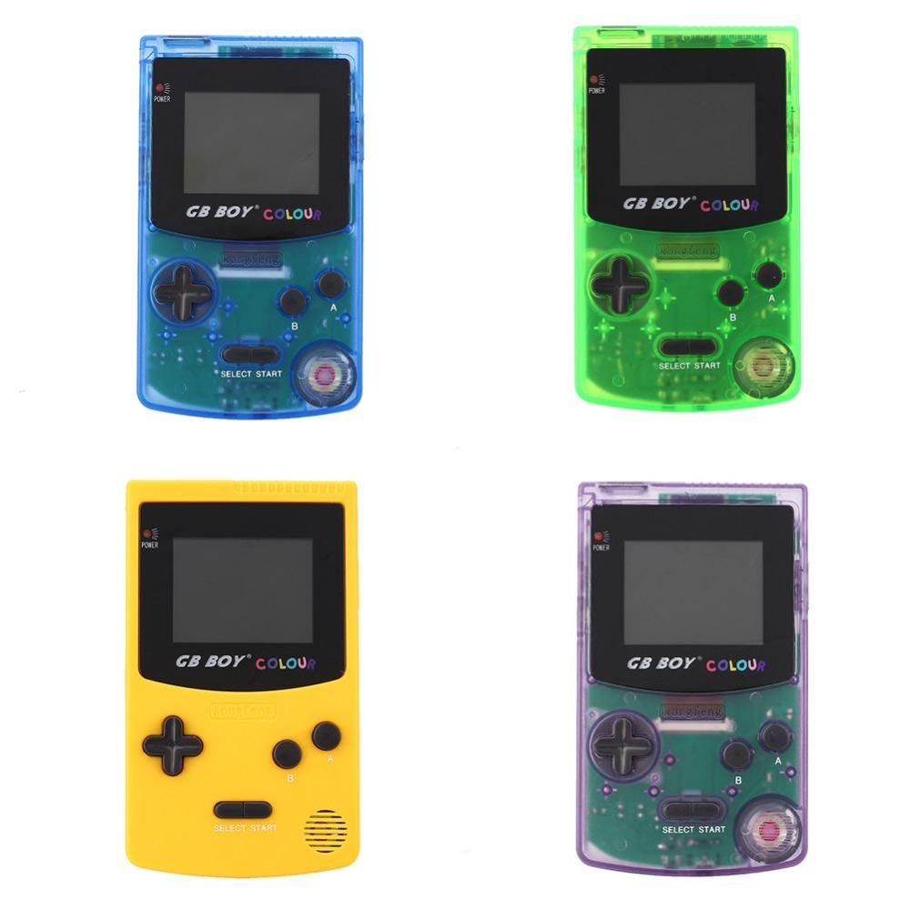 Game boy color online games - Original For Gb Boy Classic Color Handheld Game Console 2 7 Game Player With Backlit 188