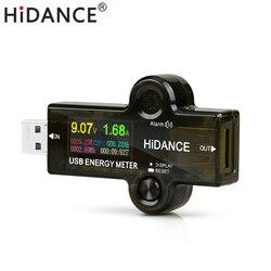 J7 H HD bluetooth usb 3.0 kolor usb tester do woltomierza amperomierz miernik napięcia prądu ładowanie akumulatora pomiar rezystancja kabla w Mierniki napięcia od Narzędzia na