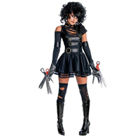 Halloween 2018 new high quality female police ghost bride female gothic dress vampire play clothes stage party performance cloth