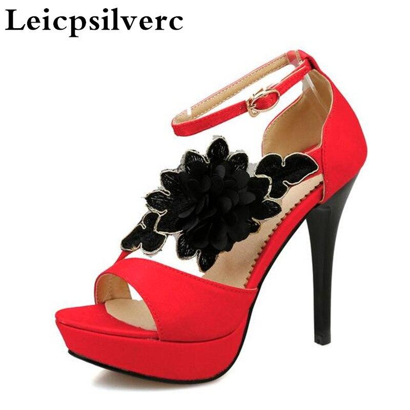 1 Donne Heels Rosso Antiscivolo Dei Bocca 2 Partito Pesci Dichotomanthes High Sandali Super End Tacco Estate f6UxwqvAA