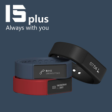 Excelvan I5 плюс SmartBand браслет bluetooth Водонепроницаемый Сенсорный экран Фитнес трекер здоровье браслет сна Мониторы Смарт-часы