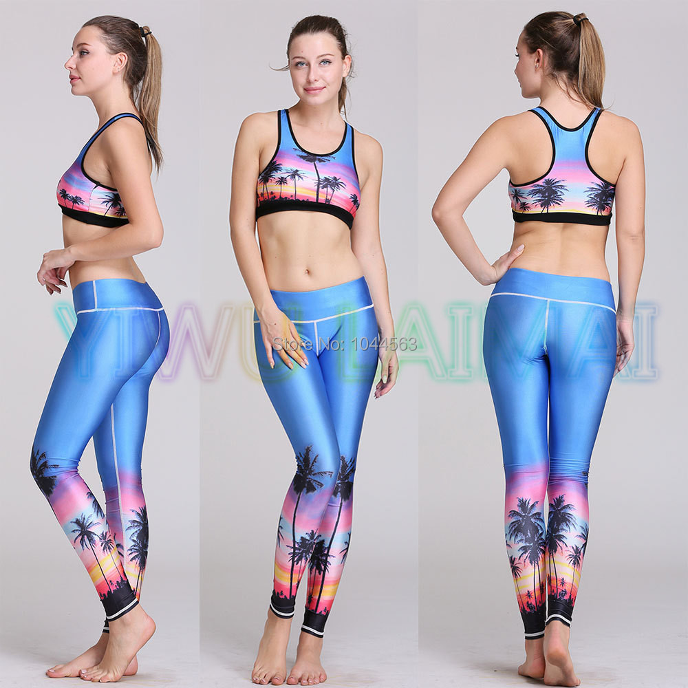 Women s yoga sets sport suit workout clothes female fitness sports - Jigerjoger 2016 Fit Wear Workout Gear Women S Yoga Sets Woman Sports Bra Fitness Beach Running Fitting