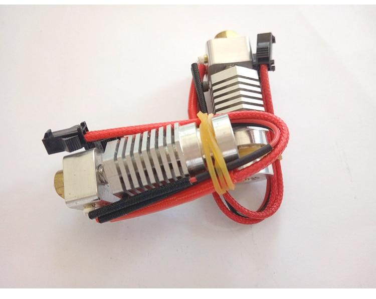 Funssor HEXAGON HOTEND kit 1.75mm All Metal Hotend for DIY Lulzbot RepRap 3D printer funssor all metal bulldog lite direct extruder 1 75mm with hotend mount plate for diy reprap prusa mendel 3d printer