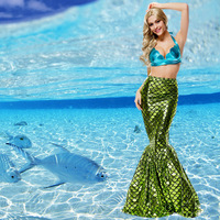 New Sexy Mermaid Evening Dress Halloween Stage Performance Game Uniform Mermaid Cosplay Costume High Quality L1891015
