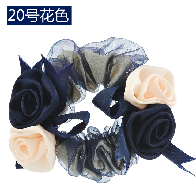 Women Lady Satin Ribbon...