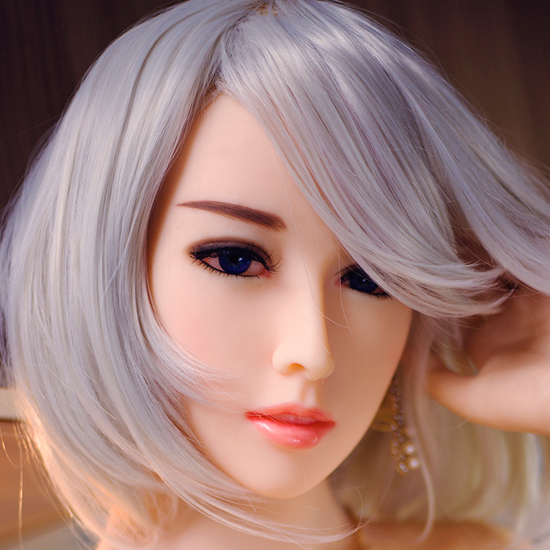 JYDoll Realistic <font><b>Sex</b></font> <font><b>Doll</b></font> Head For <font><b>TPE</b></font> Silicone Oral <font><b>Sex</b></font> <font><b>Doll</b></font> Head <font><b>Sex</b></font> Toy Can Fit For <font><b>140cm</b></font> To 170cm Full Size <font><b>Dolls</b></font> image
