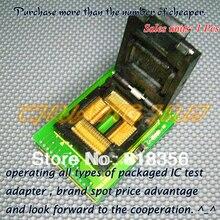 Компания Toshiba BM1185A программист адаптер ПМ-RTC005-366A IC51-1004-814-2 QFP100 LQFP100 TQFP100 адаптер/гнездо IC/ИК тест гнездо