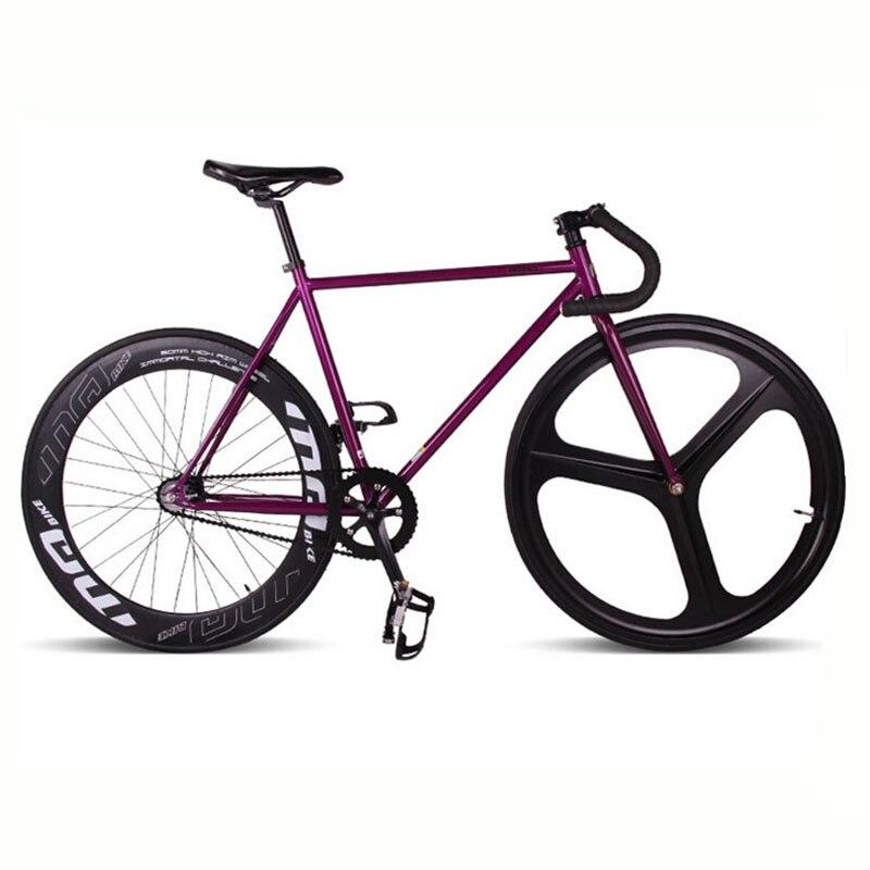 Magnesium Alloy Wheel 3 spokes fixie Bicycle, Fixed gear bike 700C ...