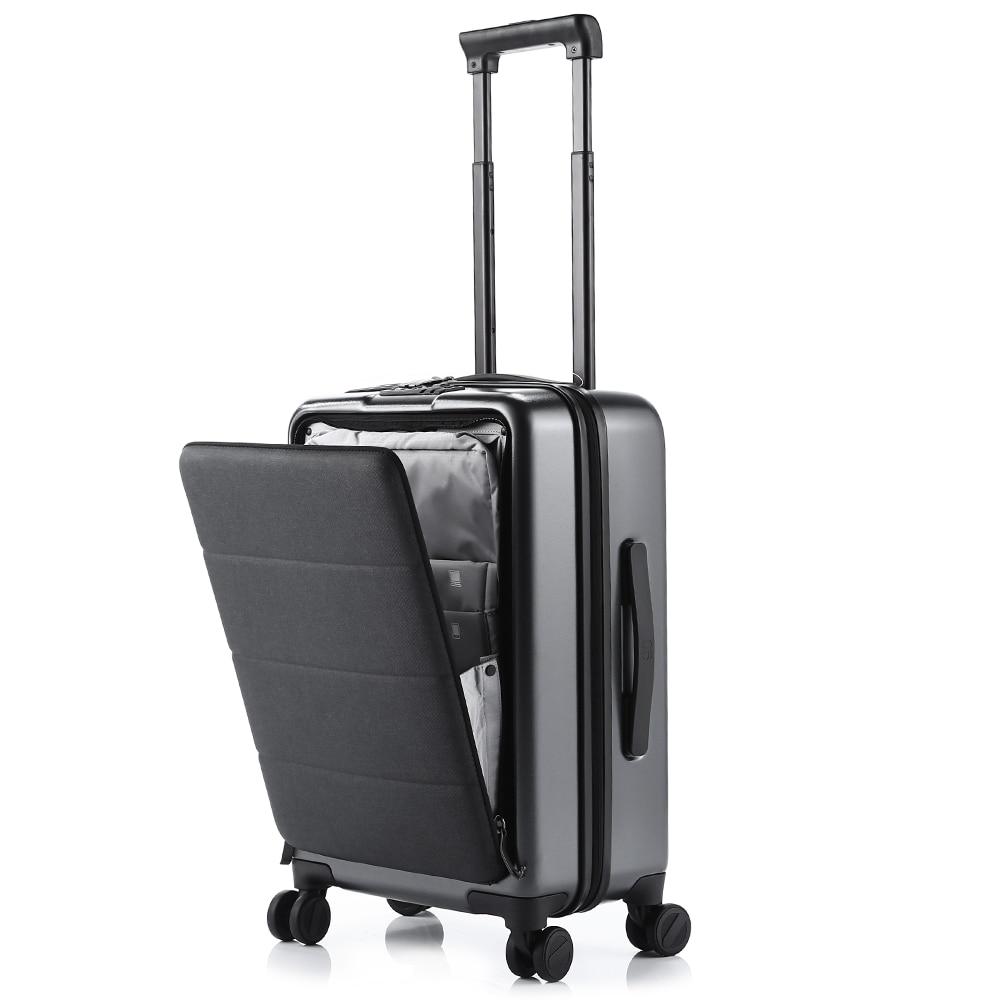 Xiaomi negocio 20 pulgadas abriendo maleta de viaje con Universal de cero-ajustable de la manija equipaje