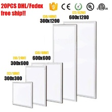 20PCS LED Panel light 300×300 12w 18w 300×600 18w 24w 300×1200 38w 48w 600×600 38w 48w 600×1200 mm 72w 82w LED Ceiling Lights
