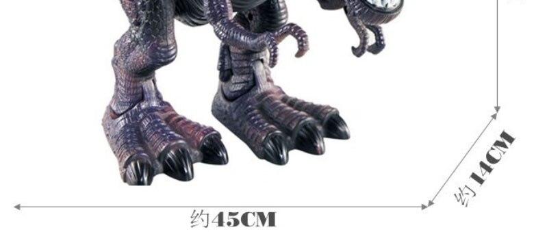 luz tyrannosaurus rex brinquedos presente para crianças