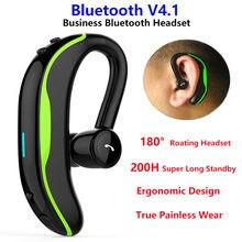 Bluetooth гарнитура f600 с шумоподавлением поворот на 180 °