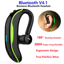 F600 Wireless Bluetooth Headset CVC6.0 Noise Reduction 180° Rotating Earphone Super Long Standby Headphones