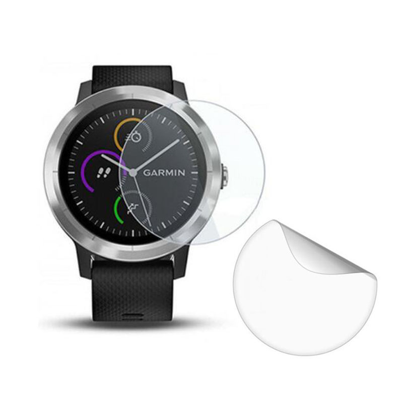 3x Soft Clear Protective Film Guard For Garmin Vivoactive 3 Watch Vivoactive3 Element/3t Trainer Screen Protector Cover(No Glass