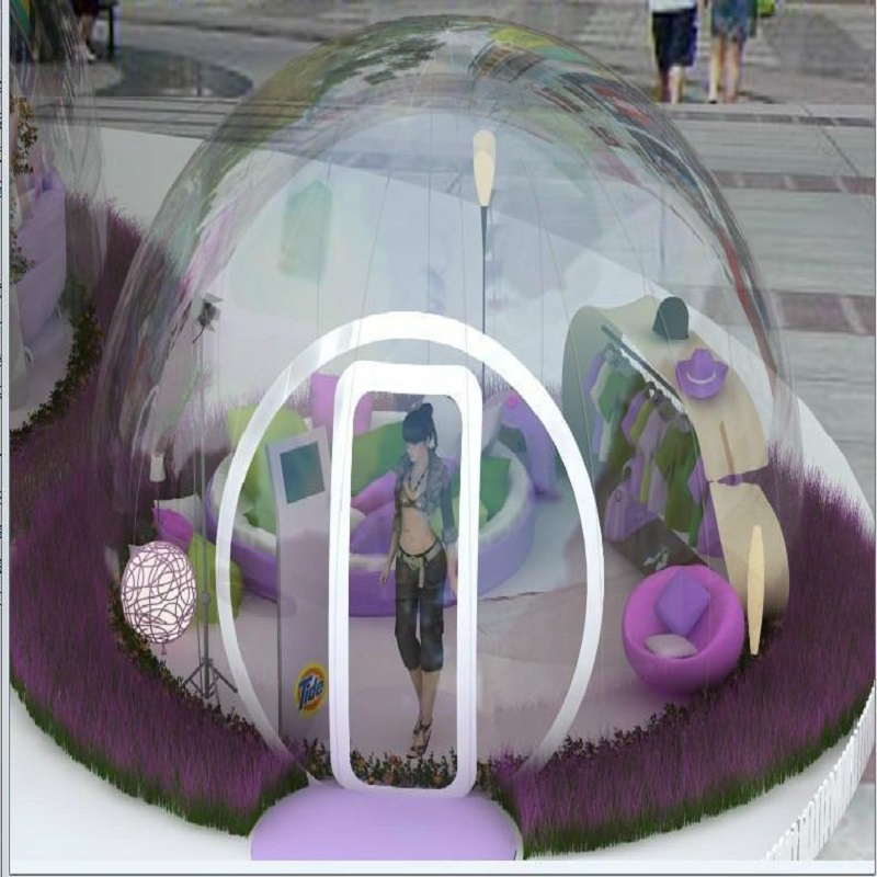 Bubble Lodge ukuran 5 * 4 * 3 M (sekitar 16.5 * 13 * 9.8 kaki) tiup - Hiburan dan olahraga luar ruangan - Foto 6