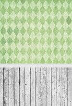 Huayi art chevron com piso de madeira pano de fundo verde padrão retrato recém-nascidos para estúdios de fotografia gota d-9291