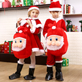 Boys Clothing New Year Costumes for Kids Gifts Child Garment Suit for Girls Performance Costume Kid Santa Claus Clothes 12 Years