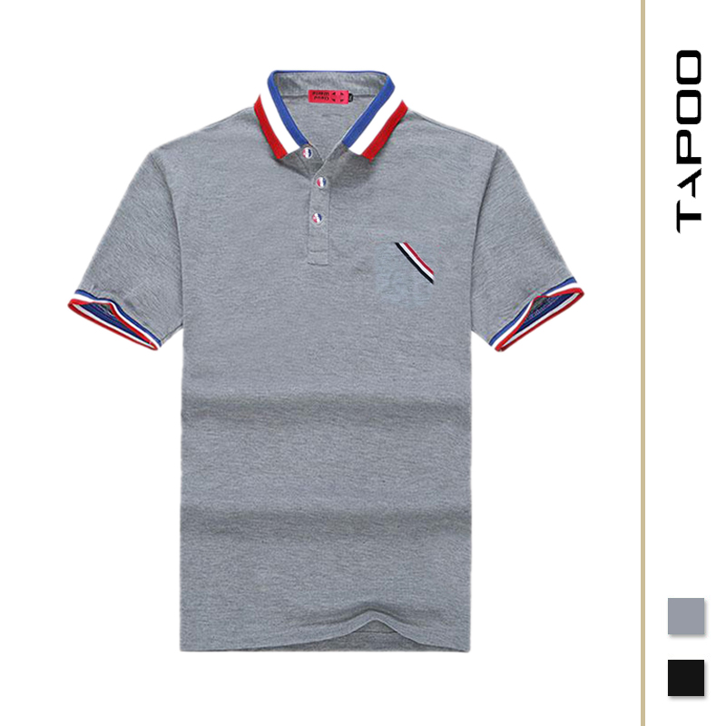 XL-8XL Europe and America Size Men's Summer   POLO   Shirt Loose Cotton Extra Large Size Half Sleeve Tops Men aeronautica militare