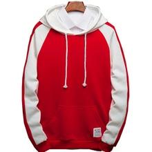 7964f41713116 Color de los hombres Hooides ropa invierno sudaderas hombres Hip Hop  Streetwear patchwork Hoody Hombre Ropa