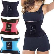 Waist Trainer Hot Shapers Belt Neoprene Fajas Corset Exercise Belt Belt Tummy Trimmer Slim Shapewear Waist Body Shaper Women