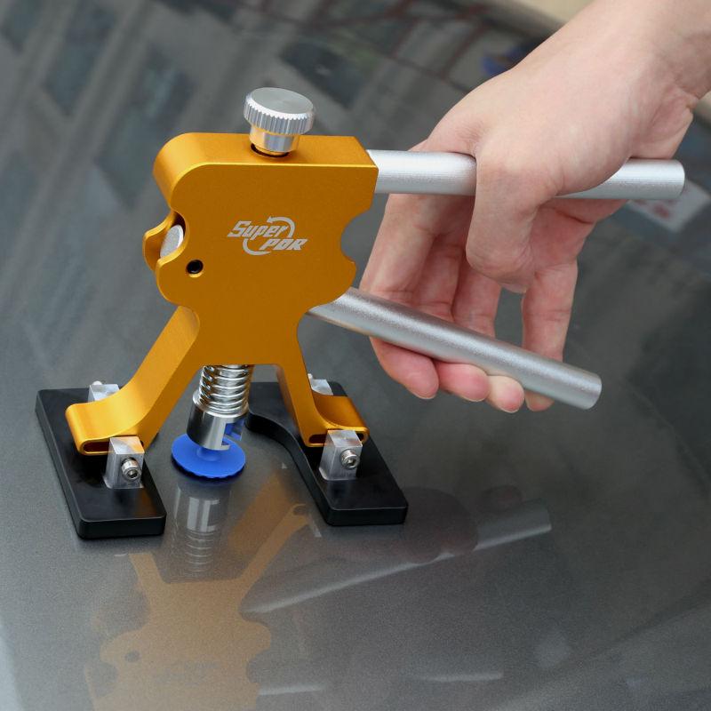 PDR tyče Háčkové nástroje Bezbarvý Dent Repair Car Dent Repair - Sady nástrojů - Fotografie 5