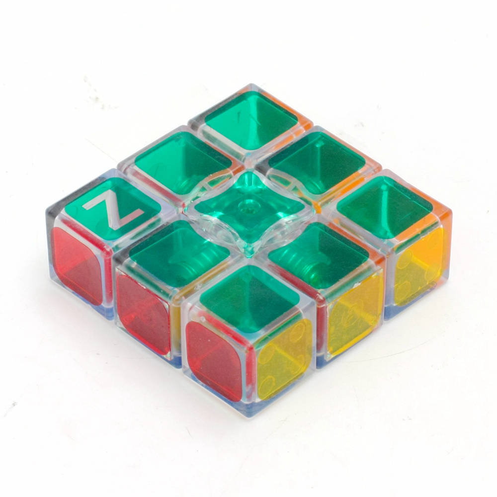Brand New Zcube Transparent 1x3x3 Speed ​​Magic Cubes Pusselspel Cube Toy Pedagogiska Leksaker För Barn Barn
