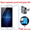 never broken Nano Explosion-proof Soft Glass Clear Screen Protector Protective Lcd Film For Meizu Meilan U10 U20