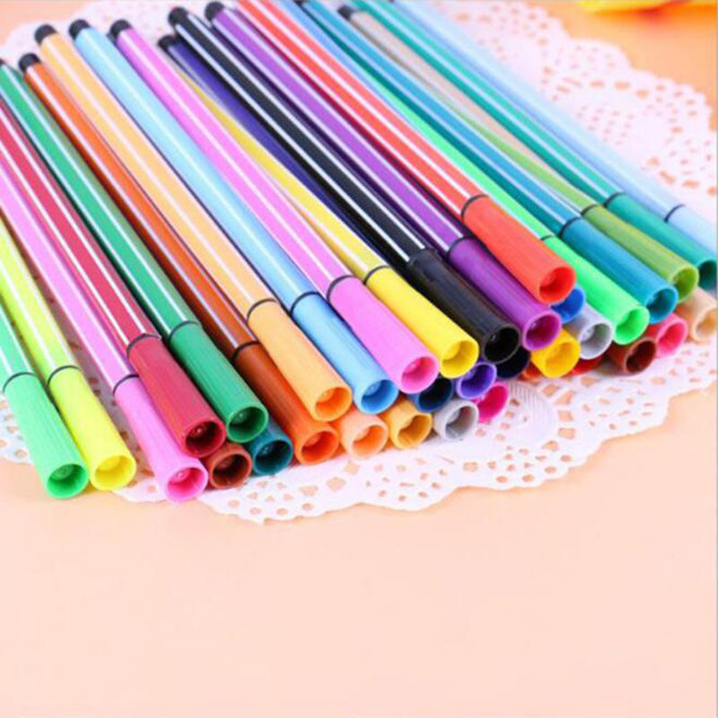 Watercolor Pens for Children - Sets of 12, 18, 24 and 36 colors