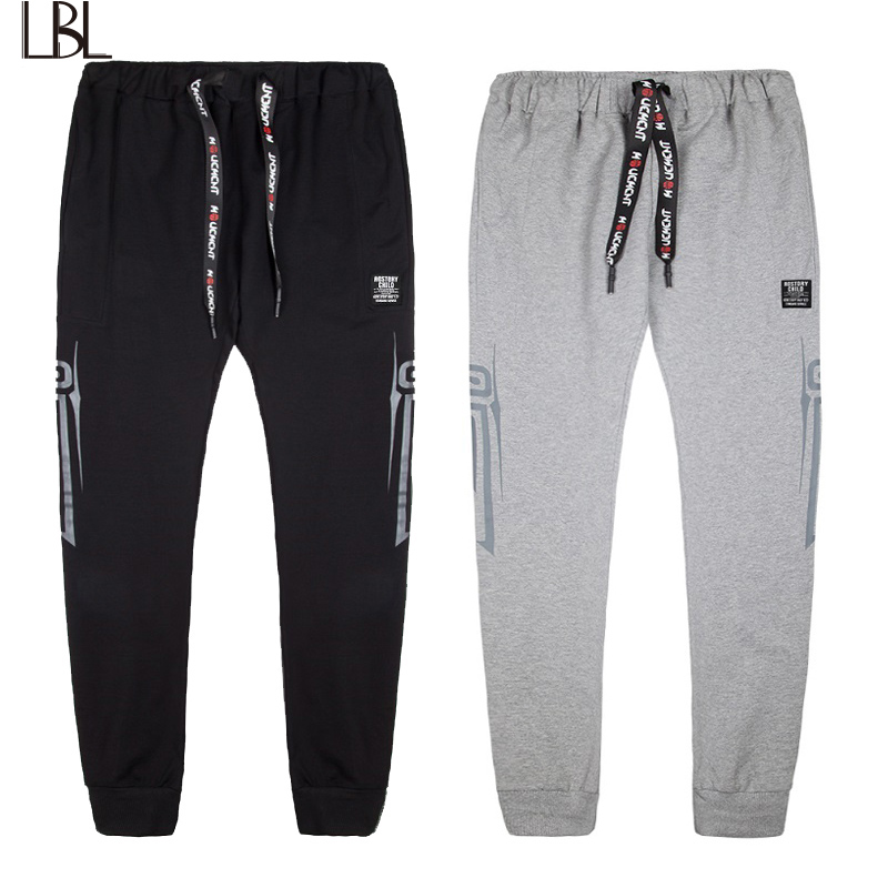 EURO Size Spring Mens Pants The High Quality Brand Cheap Sweatpants Black Trousers Casual Streetwear Autumn Sporting Clothing