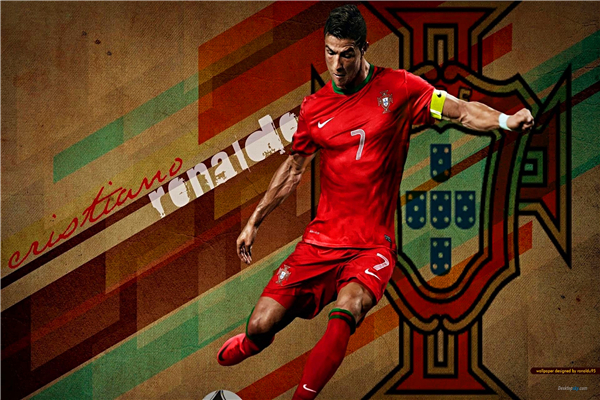 Art Of Cristiano Ronaldo Fans Wallpaper Sport Soccer: Custom Canvas Art Cristiano Ronaldo Poster Portugal